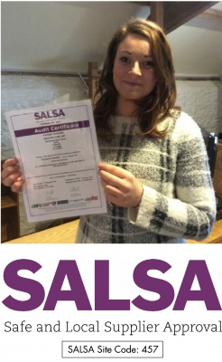 Cornish Orchards Achieves SALSA Accreditation Again!