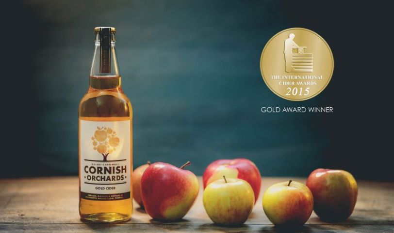 GOLD AWARD FOR OUR GOLD CIDER