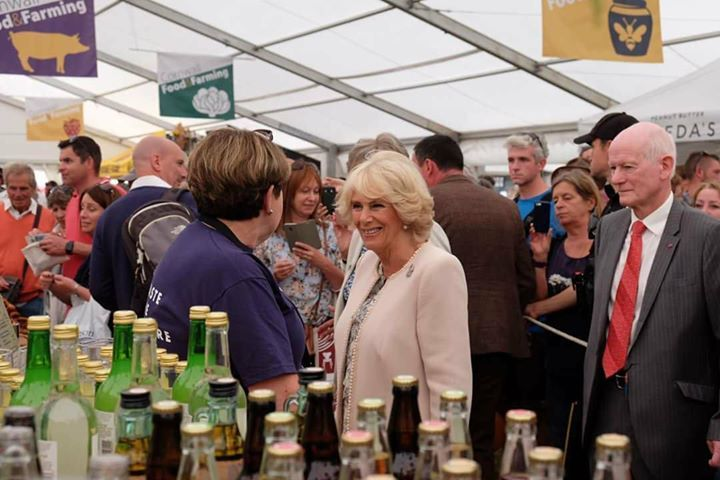 A royal welcoming for Cornish Orchards at the Royal Cornwall Show 2018