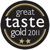 Great Taste Award 2011 - 2 Gold Star