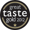 Great Taste Award 2012 - 1 Gold Star