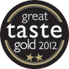Great Taste Award 2012 - 2 Gold Star
